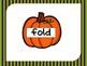 Pumpkin Verbs PowerPoint Activity