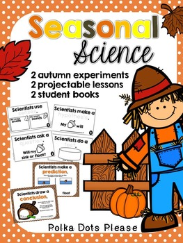Pumpkin and Acorn Projectable Science Experiments and Books