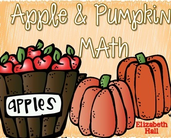 Apple and Pumpkin Math {Math Centers and Games}