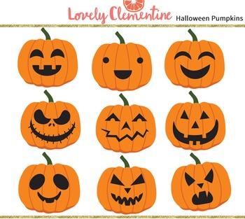 Pumpkin clip art images, halloween clipart