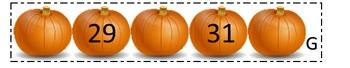 Pumpkin number cardinality