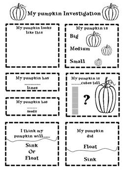 Pumpkin themed Worksheets Bundle