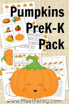 Pumpking PreK and K Pack