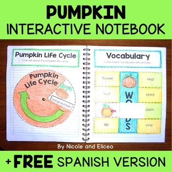 Pumpkin Activities Interactive Notebook