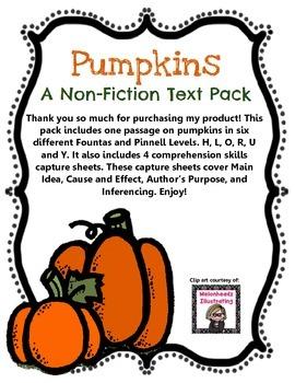 Pumpkins: A Non-Fiction Text Pack