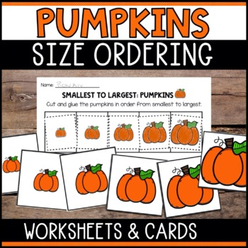 Pumpkins - From Smallest to Largest
