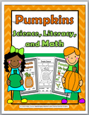 Pumpkin Life Cycle Science, Literacy & Math -Pumpkin Activ