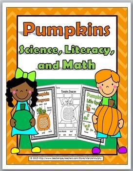 Pumpkin Life Cycle Science, Literacy & Math -Pumpkin Activ