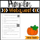 Pumpkins Webquest