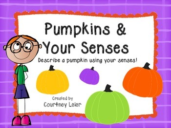 Pumpkins & Your Senses - October Activities