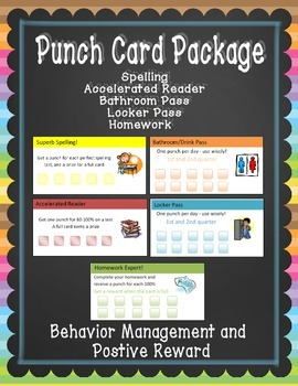 Punch Card Package