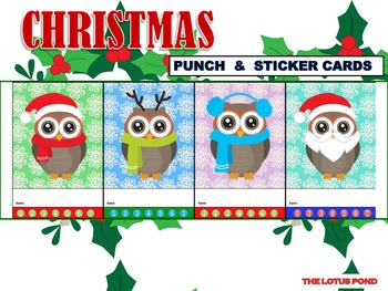 Punch Cards : Christmas