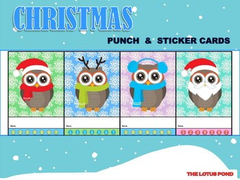 Punch Cards : Christmas - Pastel Bottoms