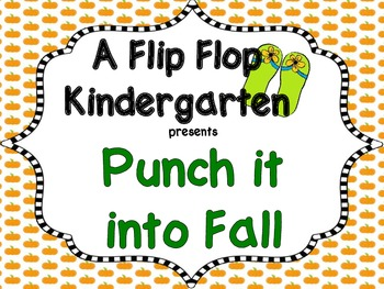 Punch it Into Fall