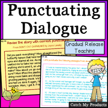Punctuating Dialogue for the Promethean Board