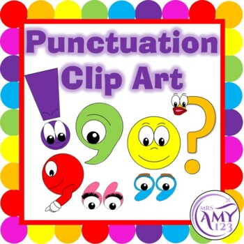 Punctuation Character Clip Art