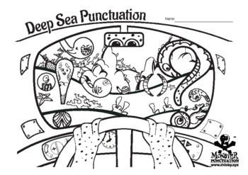 Punctuation Coloring Sheet