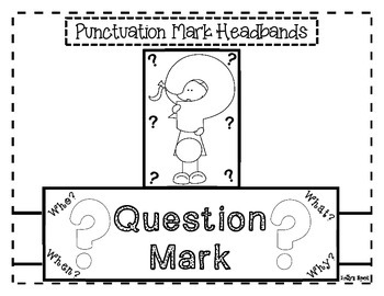 Punctuation Mark Headbands