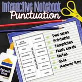 Punctuation Interactive Notebook: Activities for Middle an