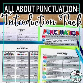Punctuation Introduction Pack