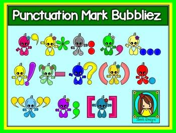 Punctuation Mark Bubbliez