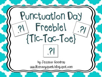 Punctuation Mark Tic-Tac-Toe