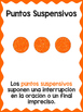Punctuation Marks Posters in Spanish