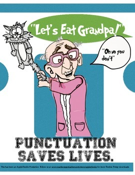 Punctuation Packet Funny With Free Poster