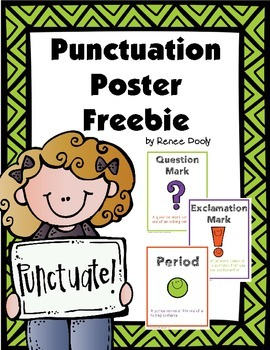 Punctuation Poster Freebie