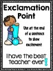 Punctuation Posters {2 Student Reference Sheets Included}