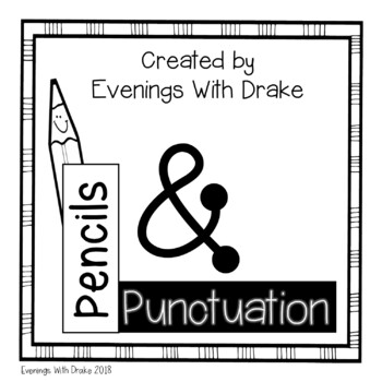 Punctuation Posters (with Interactive Notebook Option)