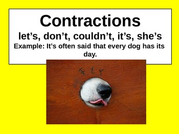 Punctuation Review for Visual Learners