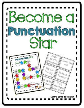 Punctuation Star Activity