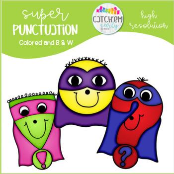Punctuation Super Hero's