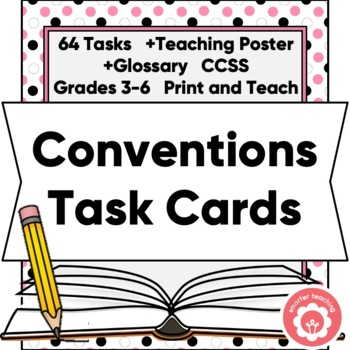 Capitalization And Punctuation Task Cards With Student Anc