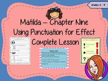 Punctuation for Effect English Lesson  – Matilda