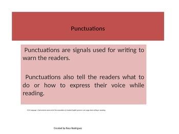 Punctuations