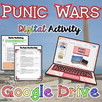 Punic Wars Digital Activity {Google Drive}