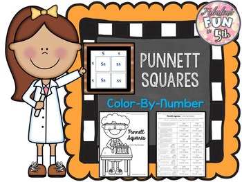 Punnett Squares Color-By-Number