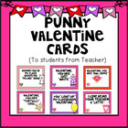 Punny Valentine Cards - From Teacher