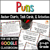 Puns Task Cards and Activities