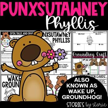 Punxsutawney Phyllis (Book Questions, Vocabulary, & Ground