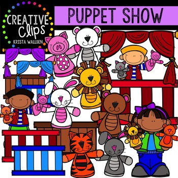 Puppet Show {Creative Clips Digital Clipart}
