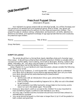 Puppet Show Project Pack