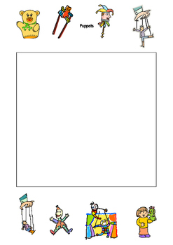 Puppet Worksheets and resources