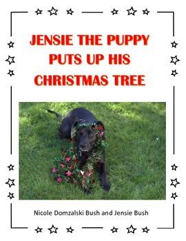 Puppy Christmas Tree Story
