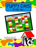 Puppy Days Customizable File Folder Game