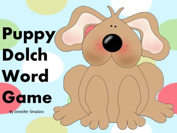 Puppy Dolch Word Game