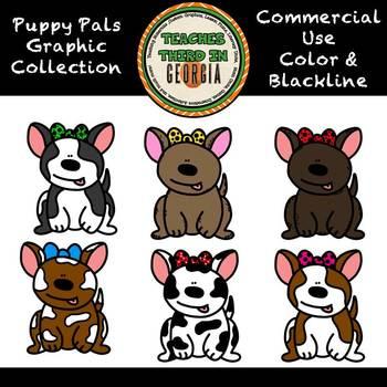 Puppy Pals Clip Art Collection-Value Set
