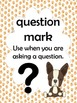 Puppy Paw Punctuation Signs